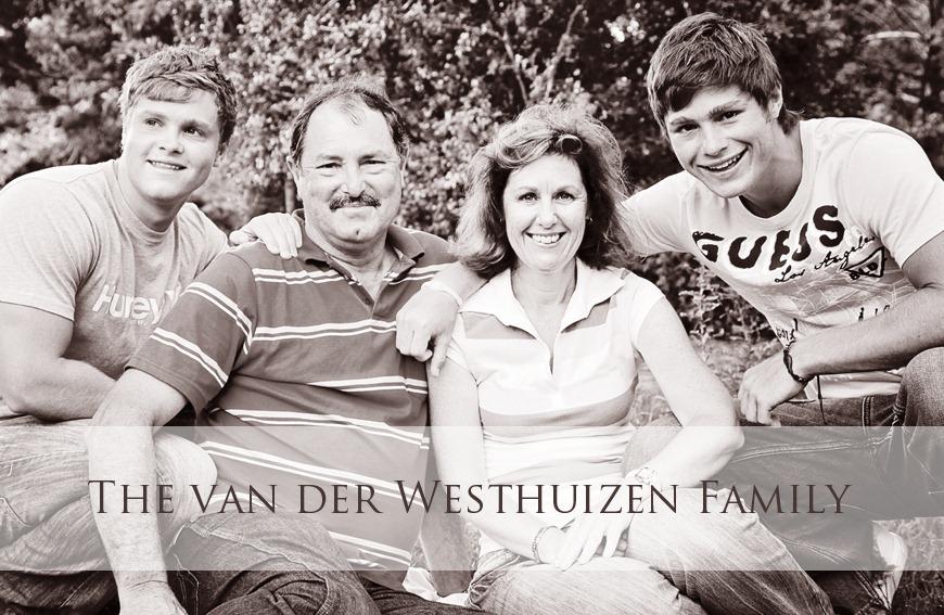 van der Westhuizen Family (1)